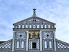 Florence / Firenze - Tuscany, Italy: San Miniato al Monte church - façade decoration - photo by M.Bergsma
