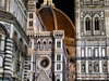 Florence / Firenze - Tuscany, Italy: Duomo detail - nocturnal - photo by M.Bergsma