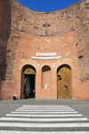 Rome, Italy: Basilica of Santa Maria degli Angeli e dei Martiri, former tepidarium of the Diocletian's Baths - Thermae Diocletiani - photo by M.Torres