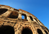 Rome, Italy: Colosseum - detail of the inner wall - photo by M.Torres