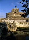 Rome, Italy: Castel Sant'Angelo and Ponte Sant'Angelo, Pons Aelius - photo by J.Fekete
