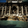 Rome, Italy: Trevi fountain - baroque work by Nicola Salvi - photo by J.Fekete