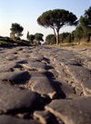 Rome, Italy: Via Appia - the Roman road to Brindisi, built in 312 BC - photo by J.Fekete