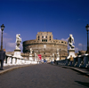 Rome, Italy: Castel Sant'Angelo seen from Ponte Sant'Angelo - photo by J.Fekete