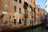 Aged Buiding on Rio de la Veste, Venice - photo by A.Beaton