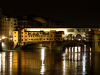 Italy / Italia - Florence / Firenze (Toscany / Toscana) / FLR : ponte vecchio - nocturnal - Historic Centre of Florence - Unesco world heritage site - photo by M.Bergsma