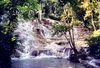 Jamaica: waterfall - Dunns River Falls (photo by Miguel Torres)