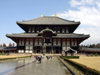 Japan (Honshu island) - Nara: Daibutsu-den Hall - Todai-ji Temple - said to be the largest wooden building in the World  - Unesco world heritage site  (photo by G.Frysinger)