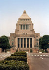 Japan - Tokyo: Parliament - Diet - the House of Representatives and the House of Councillors - photo by M.Torres
