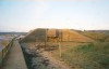 Jersey - St. Ouen's bay: German bunker - Hitler's Wall of the Atlantic - built by Fritz  Todt - Blockhaus