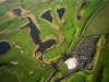 Jersey - Jersey: Les Mielles - the Golf Club and the nature reserve, Les Trois Rocques - from the air