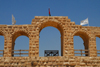 Jerash - Jordan: arches of the Hippodrome - Roman city of Gerasa - photo by M.Torres