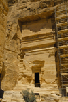 Jordan - Petra: Nabatean tomb - Street of Facades - photo by M.Torres