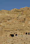 Jordan - Petra: Palace Tomb - East Ridge Tombs - photo by M.Torres
