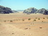 Jordan - Wadi Rum - Aqaba governorate: alien landscape - the path of Lawrence of Arabia - landscape - photo by R.Wallace