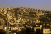Jordan - Amman / AMM /ADJ: building on the slope - photo by J.Wreford