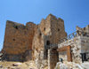 Ajlun - Jordan: Ajlun castle - view from the moat - photo by M.Torres