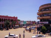 Lubumbashi: street scene by the hotel Belle Vie - photo by Oasisk