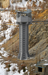 Kazakhstan - Chimbulak ski-resort, Almaty: tower above the dam - photo by M.Torres