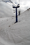 Kazakhstan - Chimbulak ski-resort, Almaty: chair lift - 3rd stage - photo by M.Torres
