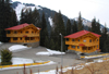 Kazakhstan - Chimbulak ski-resort, Almaty: Swiss chalets - photo by M.Torres