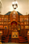 Kazakhstan, Almaty: Holy Ascension Russian Orthodox Cathedral - iconostasis - photo by M.Torres