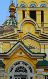Kazakhstan, Almaty: Holy Ascension Russian Orthodox Cathedral - built of wood, without a single nail - photo by M.Torres