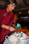Kazakhstan, Almaty: tea being served - photo by M.Torres