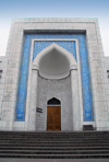 Kazakhstan, Almaty / Alma Ata: Central Mosque - located at the intersection of Pushkin and Mametova streets - photo by M.Torres