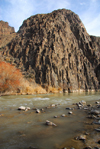 Kazakhstan, Charyn Canyon: Charyn River and ravine - photo by M.Torres