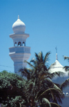 Kenya - Mombasa / Mombassa / MBA - Coast Province: white mosque - photo by F.Rigaud