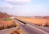 North Korea / DPRK - North Korea / DPRK - Kyomipo province: empty motorway - photo by M.Torres