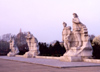 North Korea / DPRK - Pyongyang: statues by the Tower of the Juche Idea (photo by M.Torres)