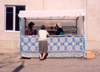 North Korea / DPRK - Pyongyang: women at a food stall (photo by M.Torres)
