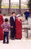 Democratic People's Republic of Korea - DPRK / Kaesong: marriage (photo by M.Torres)