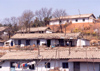 North Korea / DPRK - Country side dwellings - photo by M.Torres