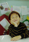 Asia - South Korea - Suweon, Gyeonggi-do province: kindergarten boy - Korean boy - photo by S.Lapides