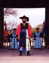 Asia - South Korea - Seoul: guarding Changdokkung palace - Joseon Dynasty soldiers - photo by M.Torres
