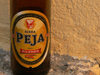 Serbia - Kosovo - Pec / Peja: bottle of Peja - 'Kosova's finest beer' - photo by J.Kaman
