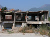 Serbia - Kosovo - Pec / Peja: Internet and conflict aftermath - war ruins - photo by J.Kaman