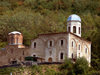 Kosovo - Prizren / Prizreni: ruined Serbian Orthodox Church of the Savior above the town - Sveti Spas - photo by J.Kaman
