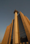 Kuwait city: Telecommunications building - photo by M.Torres