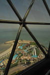 Kuwait city: recreation parks seen from Kuwait towers - photo by M.Torres
