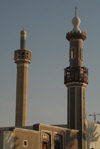 Kuwait city: two minarets, Grand Mosque in background - Sharq district - photo by M.Torres