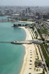 Kuwait city: beaches along the Eastern part of Arabian Gulf street - photo by M.Torres