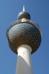 Kuwait city: Kuwait towers - main tower - photo by M.Torres