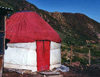 Kyrgyzstan - yurt dwelling, from the former nomadic life of Central Asia - photo by G.Frysinger