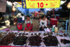 Laos: women sell scorpions and insects at the market - Unusual Food - photo by E.Petitalot