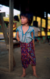 Laos - Hmong village near Luang Prabang - Hmong girl (photo by K.Strobel)