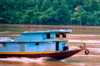 Laos - Luang Prabang - commercial boat trough the Mekong (photo by K.Strobel)